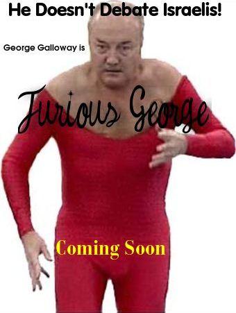 Fake Movie Posters Meme Poster George Galloway Israel1