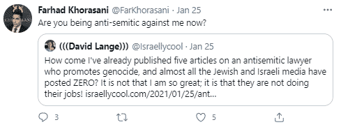 Farhad Khorasani tweet