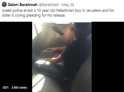 detained kid tweet