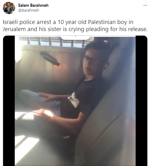 detained kid video