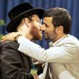 iran kiss