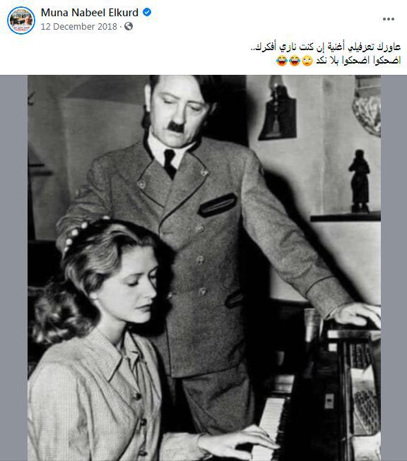 muna el kurd hitler post