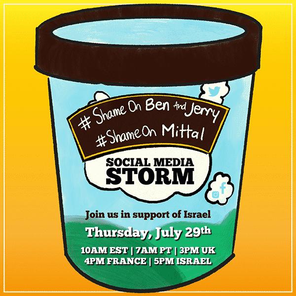 ben and jerry's social media storm