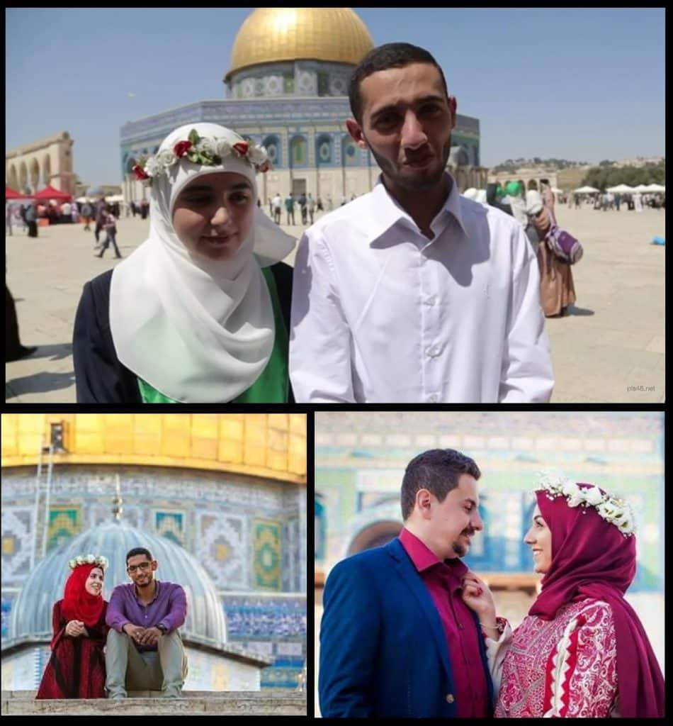 Muslim weddings are commonplace on the Temple Mount.