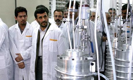 Ahmadinejad visit nuclear