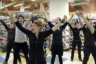 BDS flashmob
