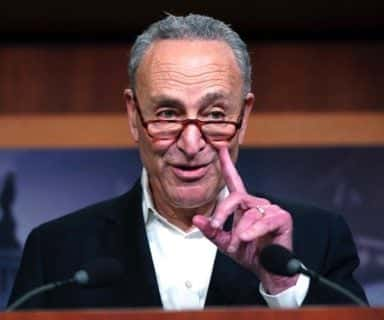 Chuck Schumer magic glasses