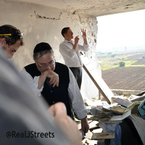 photo damage Gaza rocket, image destroyed home, rocket attack photo