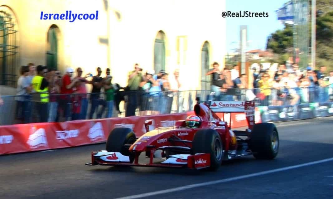 image race car in Jerusalem Formula show