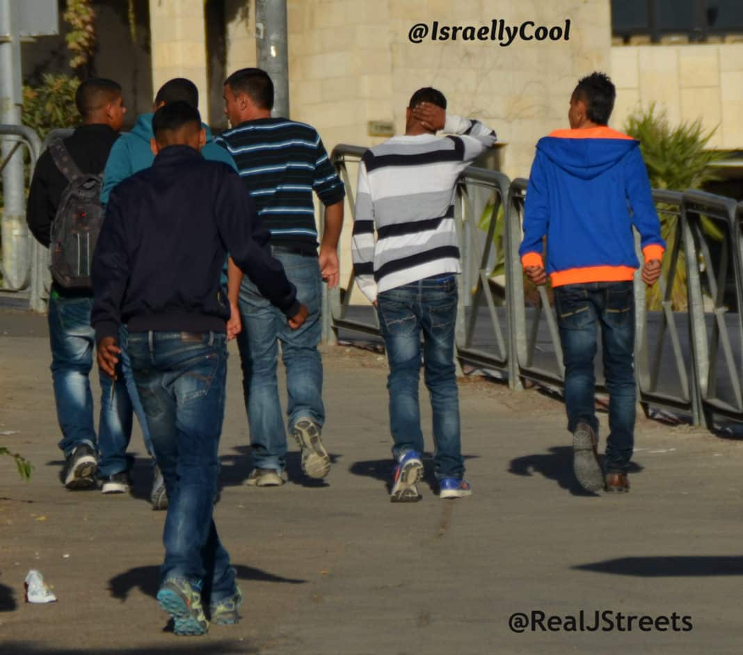image Jerusalem apartheid, photo Palestinian boys, photo abuse Palestinian