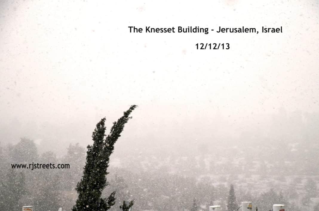 image snow in Jerusalem, picture Jerusalem snow, photo snow Isarel