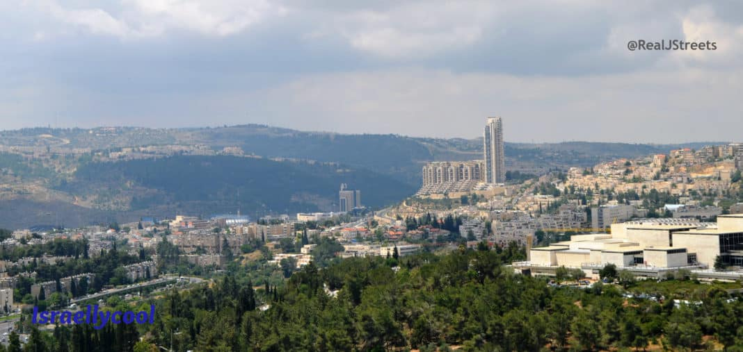 photo Holyland, picture of Holyland, view of Jerusalem with Holyland