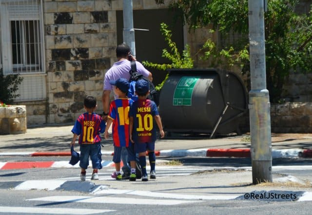 image children in shirts #10 for Messi