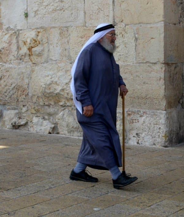 Palestinian man image, Israel abuse of Palestinian, image Palestinian in Jerusalem, photo Muslim in Israel