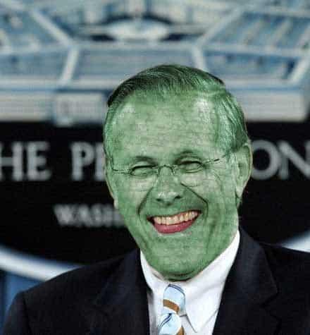 Donald-Rumsfeld_Lizard-Person