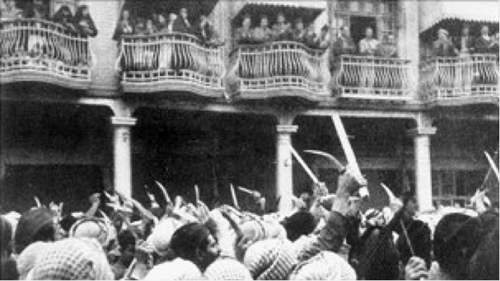 The Farhud Pogrom, Bagdhad, 1941.