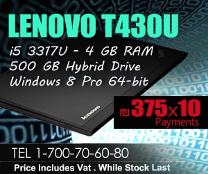 Fiber PC Lenovo T430U offer