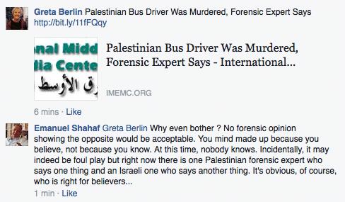 Greta Berlin trying to excuse murder of praying jews