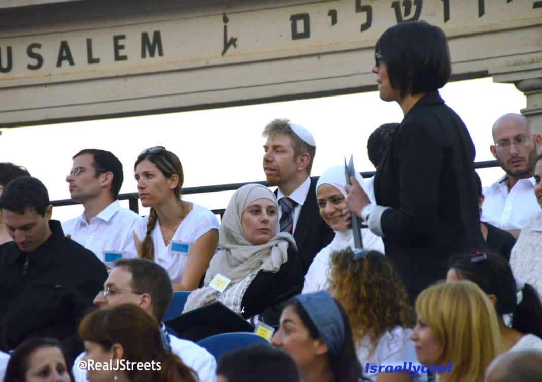 Two Muslim women at Hebrew U getting phd