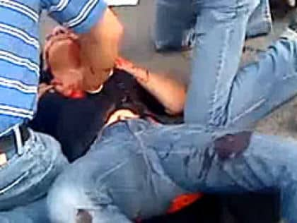 Neda Agha Sultani prodly wearing jeans while being murdered by regime