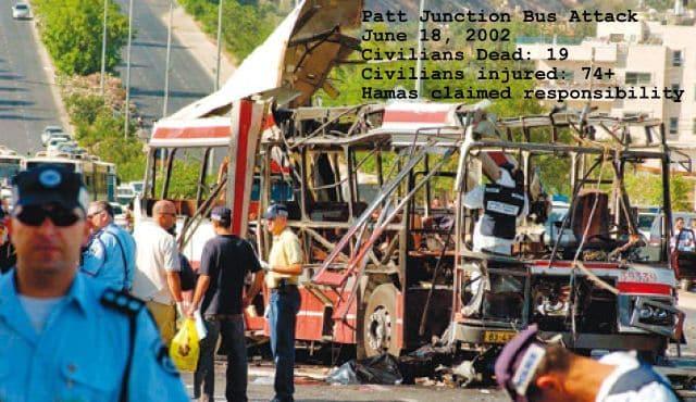 Jerusalem 2002 bus