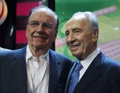 Murdoch Peres Israel