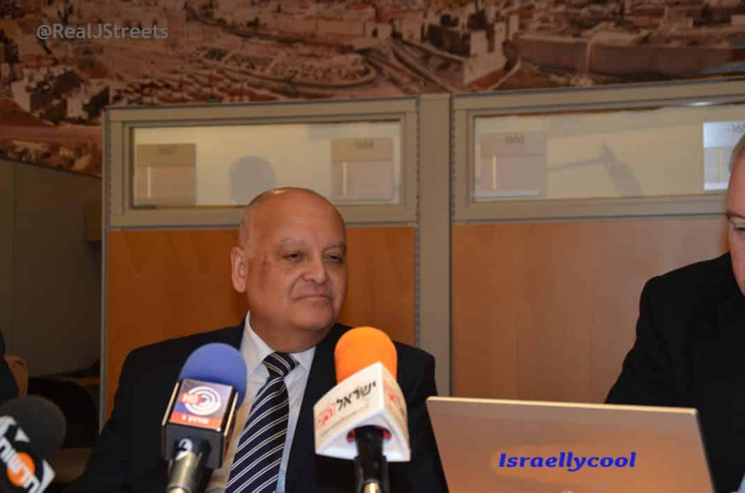 image Israeli supreme court Arab judge Salim Jouran
