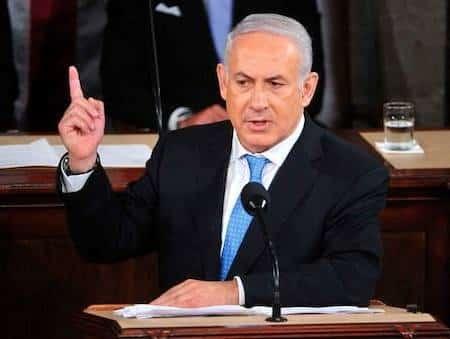 Israeli Prime Minister Benjamin Netenyahu