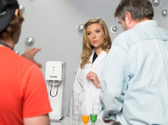 Scarlett Johansson SodaStream commercial image Super Bowl 2014