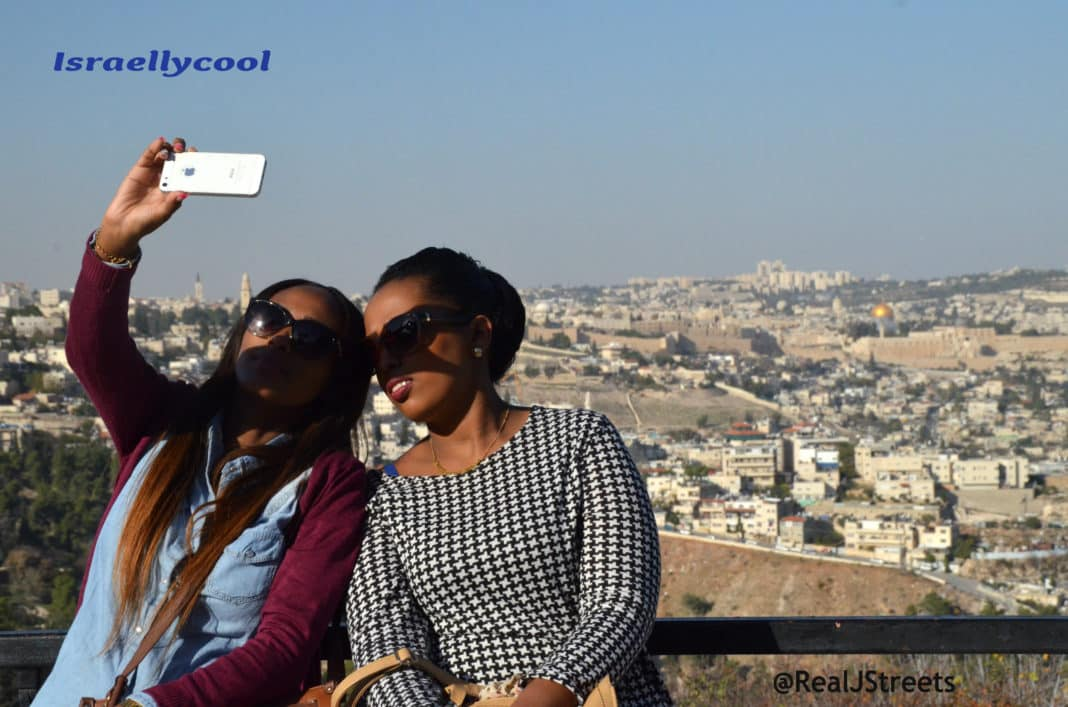 image Old City Jerusalem selfie