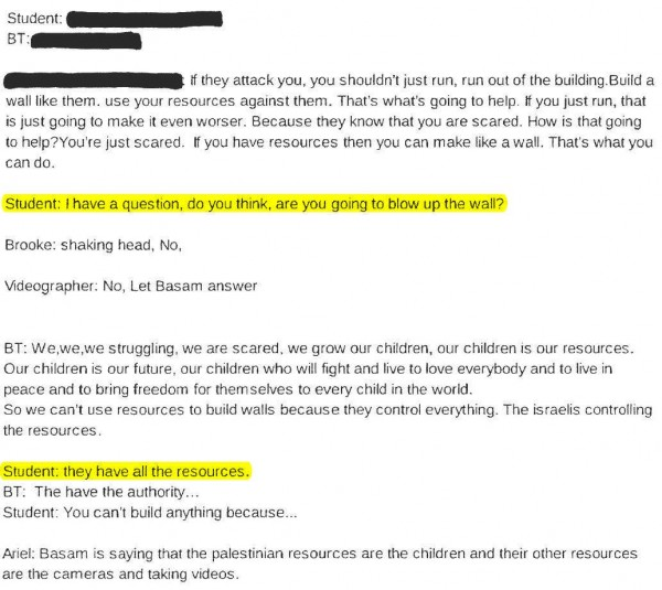 transcript-bassem-tamimi-at-third-grade-3-highlighted-e1447017371560
