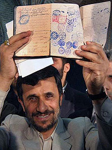 ahmadinejad papers