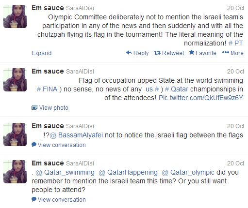 anti israel tweets