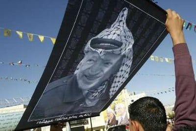arafat condom head - Reuters