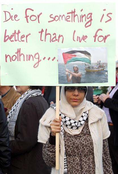 pro palestinian