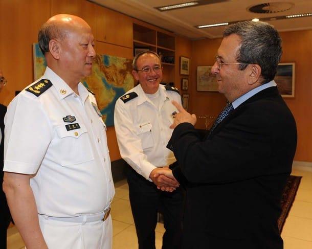 Ehud Barak Wu Shengli