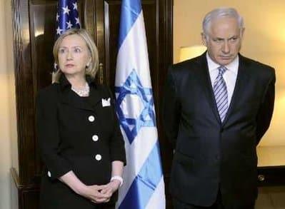 Netanyahu Hillary Clinton