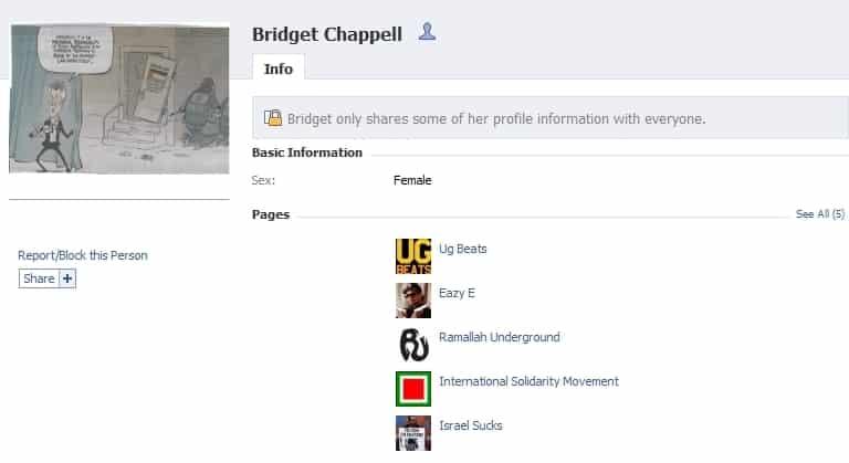 bridget facebook