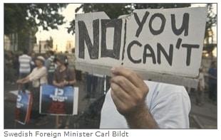 carl bildt caption error