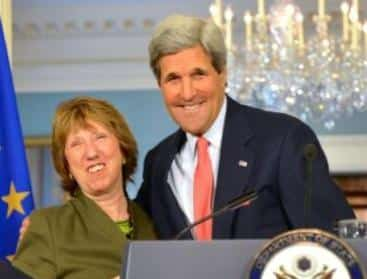catherine ashton john kerry