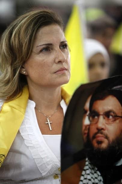 Hizbullah Christian woman