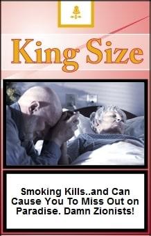 Iranian cigarette warning