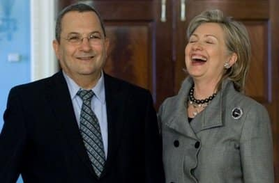 Ehud Barak Hillary Clinton
