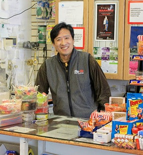 chinese shop owner