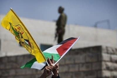 Fatah palestinian flag