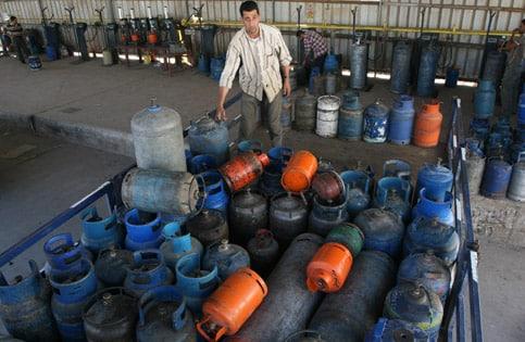 gaza gas