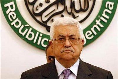 Abbas grump - Reuters