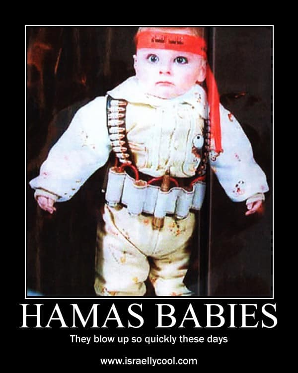 hamas baby poster