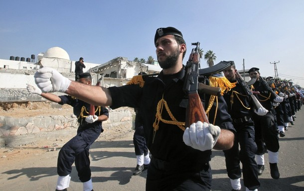 Hamas protest - Reuters