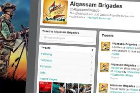 hamas twitter account